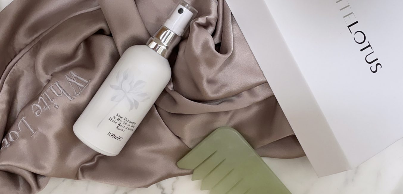White Lotus and haircare the holistic way...